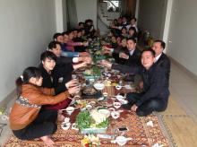 họp mặt đầu năm trường hanoi orthodontic school